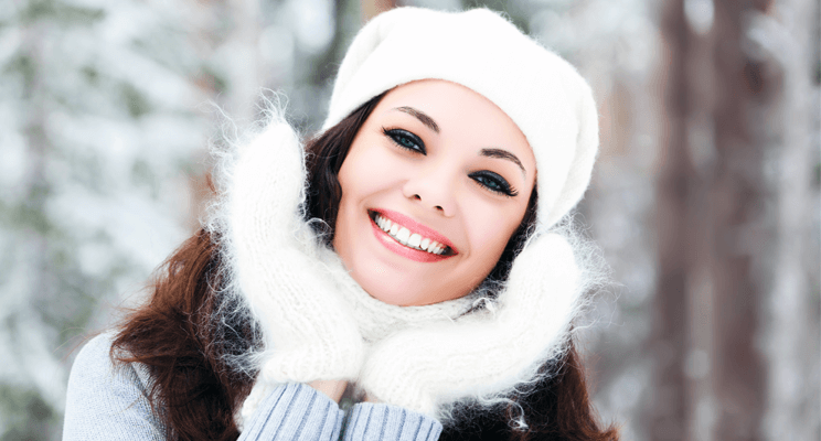 What Should I Do to Protect My Skin in Cold Weather? Natural Skin Care Beauty Tips Health and Wellness Women  sunscreen skin care should protect skin organic skin care hydrated glycolic acid cold weather Alpha hydroxy acids
