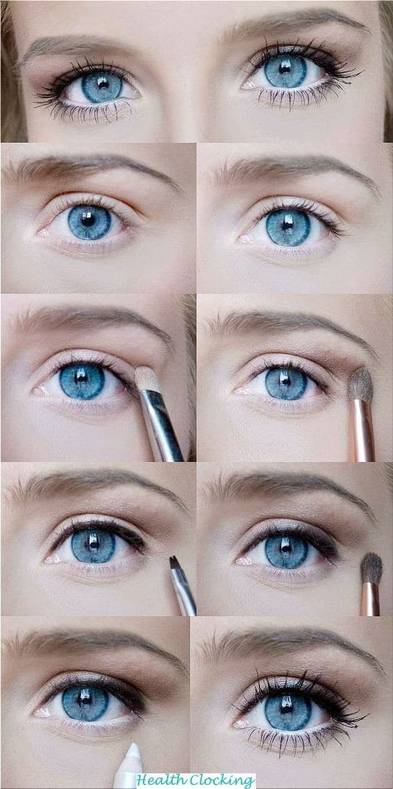 15 Natural Eye Make-up for Office Looks