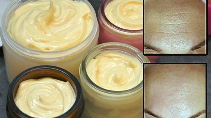 Homemade cream that soothes your wrinkles in just 7 days Natural Skin Care Women  wrinkles soothes Homemade cream for wrinkles homemade cream anti aging homemade cream